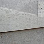 Borstad gråbetong