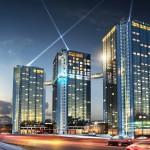 Gestaltning av Gothia Towers, av White Arkitekter
