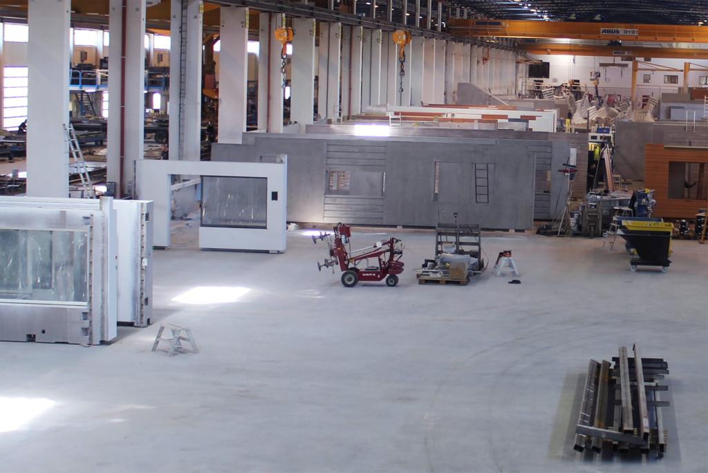 UBABs betonghall