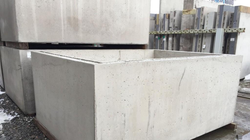 Hissgrop i betong
