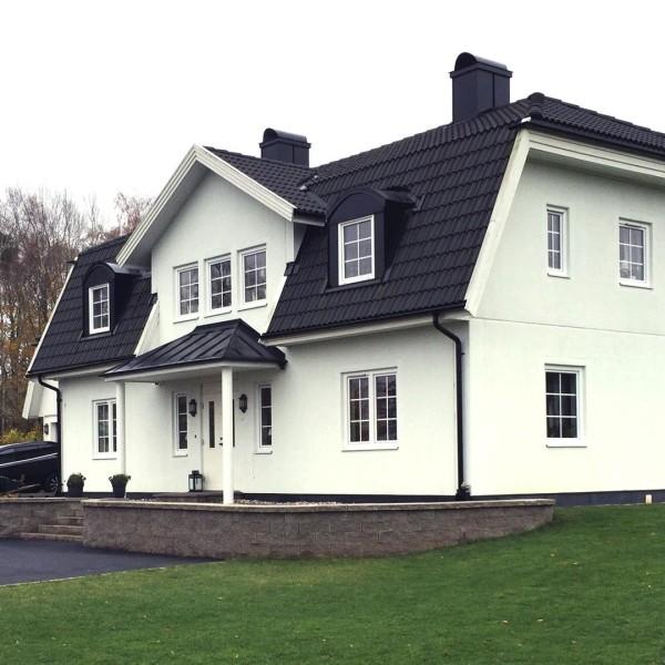 Villa Berner snett framifrån