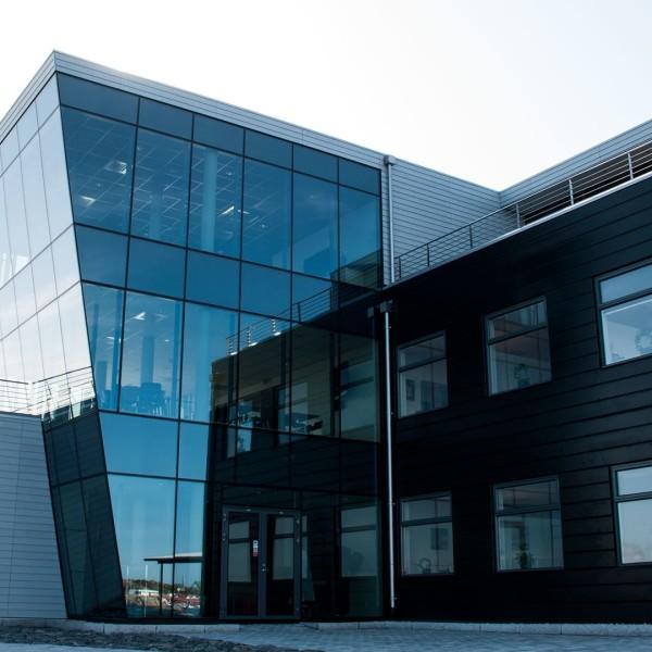 Berg Propulsions kontor på Hönö