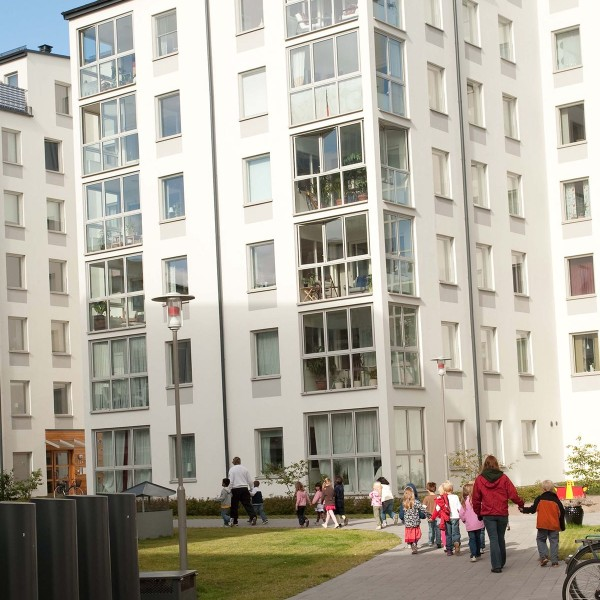 Kvarter Godsfinkan framifrån