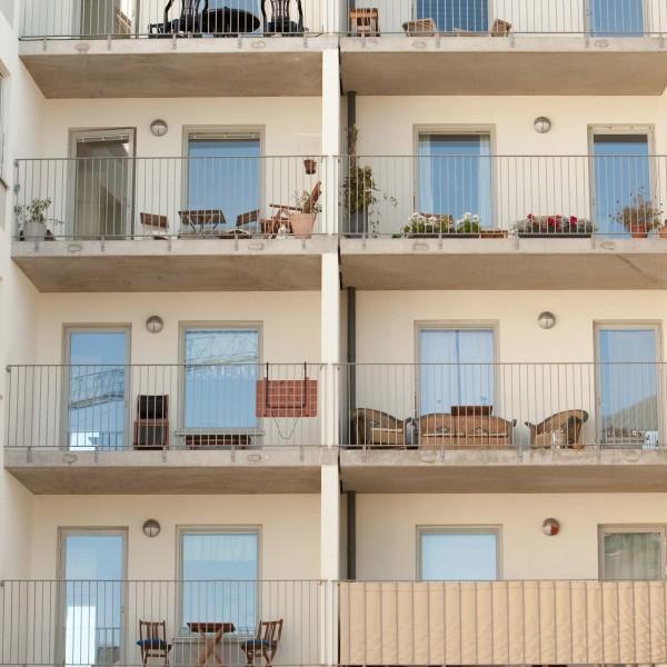 Kvarter Godsfinkan balkonger