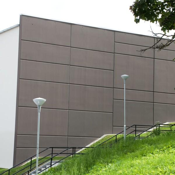 Vägg på Daltorpshallen i Borås