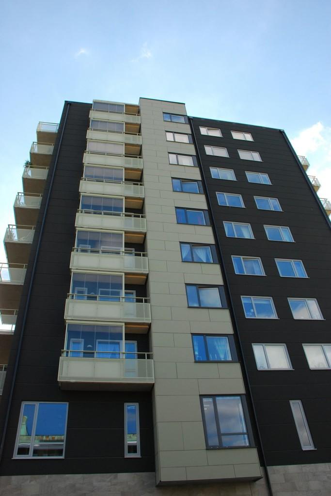 Kvillebäcken Lott A i Göteborg, fasad